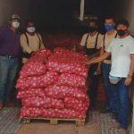 Arequipa: agricultores de Majes exportan 26 toneladas de cebolla a Brasil